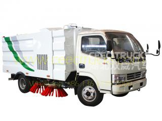 dongfeng 4000l route balayeuse camion en vente
