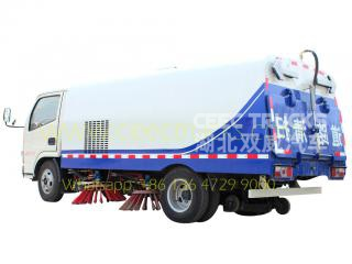 Camion balayeuse route Dongfeng 5CBM