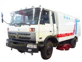 Dongfeng 10,000l road sheeping truck