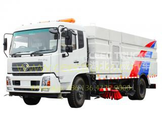 dongfeng 12,000l route balayeuse camion fournisseur