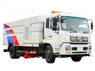 dongfeng 12cbm route balayeuse camion fabrication