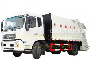 Dongfeng 14 cbm new trash truck
