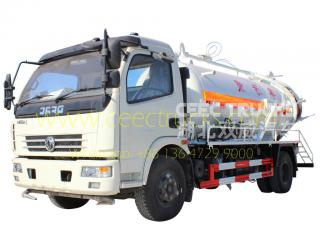 Dongfeng 6.000l vacuum tanker