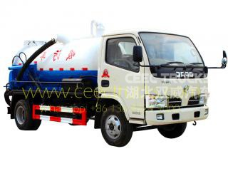 dongfeng 4,000l vide camion prix bas