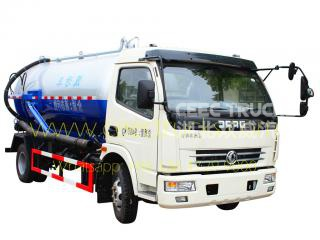 dongfeng 8,000l cloaque camion