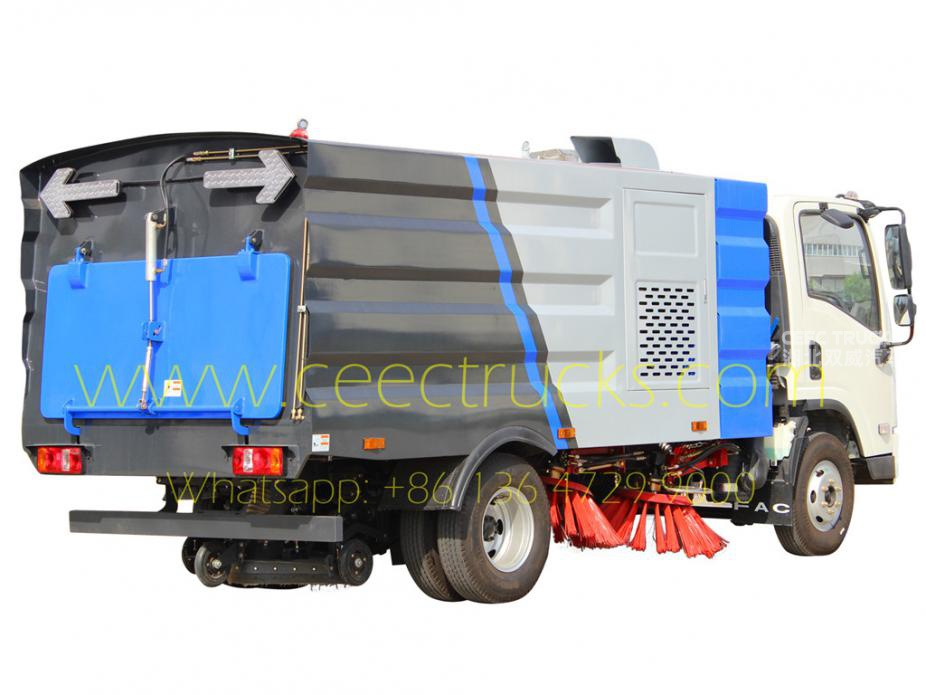 FAW 5CBM road sweeper truck hot sale