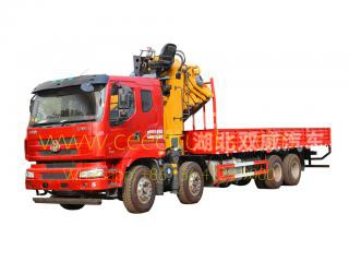 25 t knuckle boom grue camion dongfeng