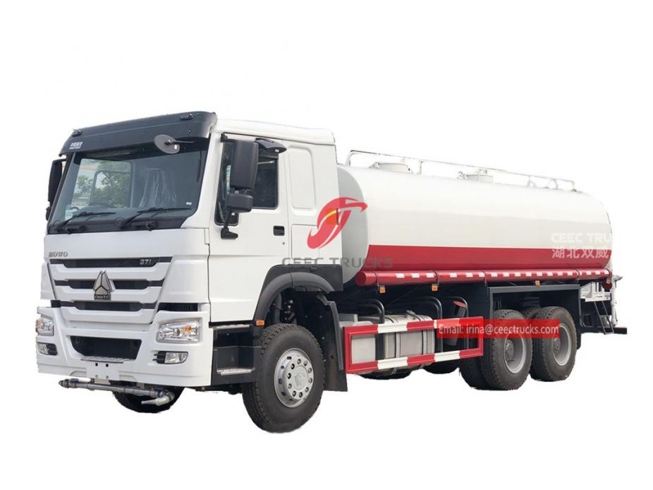 HOWO 20,000 liters water tanker truck for sale