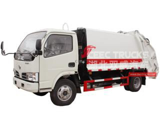 dongfeng 4000liters refuser camion compacteur