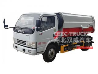 Collecteur d'ordures 6cbm dongfeng-CEEC TRUCKS