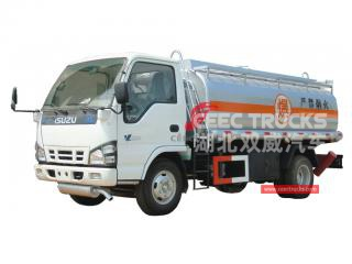 isuzu 5cbm bowser de carburant-CEEC TRUCKS