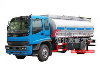 camion de transport de carburant isuzu 16cbm-CEEC TRUCKS