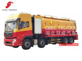 Camion aspirateur combiné jetting 10 + 18 m3 dongfeng-CEEC TRUCKS