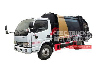 Dongfeng 5cbm refuser le camion de compression-CEEC TRUCKS