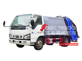 camion de compression d'ordures isuzu 4 * 2-CEEC TRUCKS
