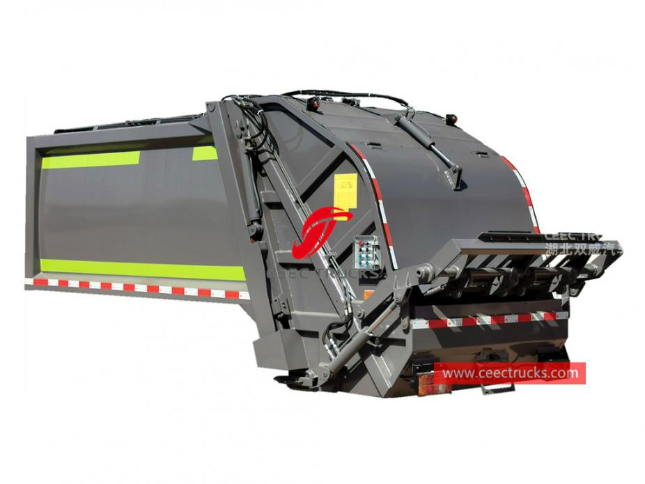 New designed 6,000 liters compressing garbage truck body