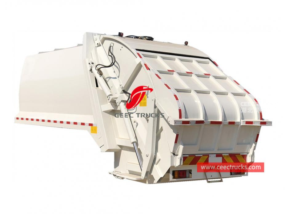 European standard 12,000 liters refuse compactor truck kit