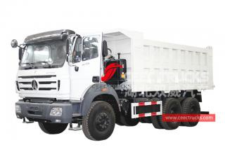camion benne nord benz