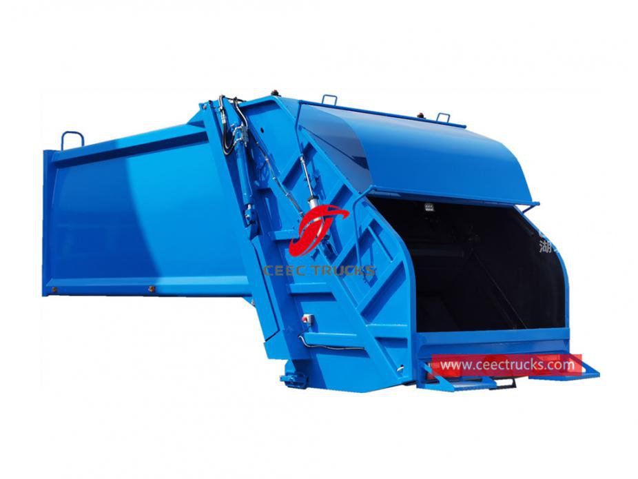 Good price 14,000 liters garbage truck compactor body
