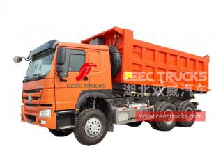HOWO 10 wheeler 371HP pointe-camion
