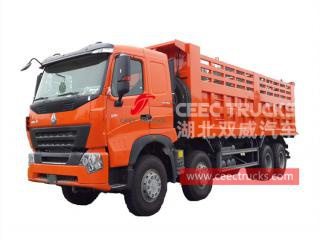 HOWO A7 8×4 benne camion