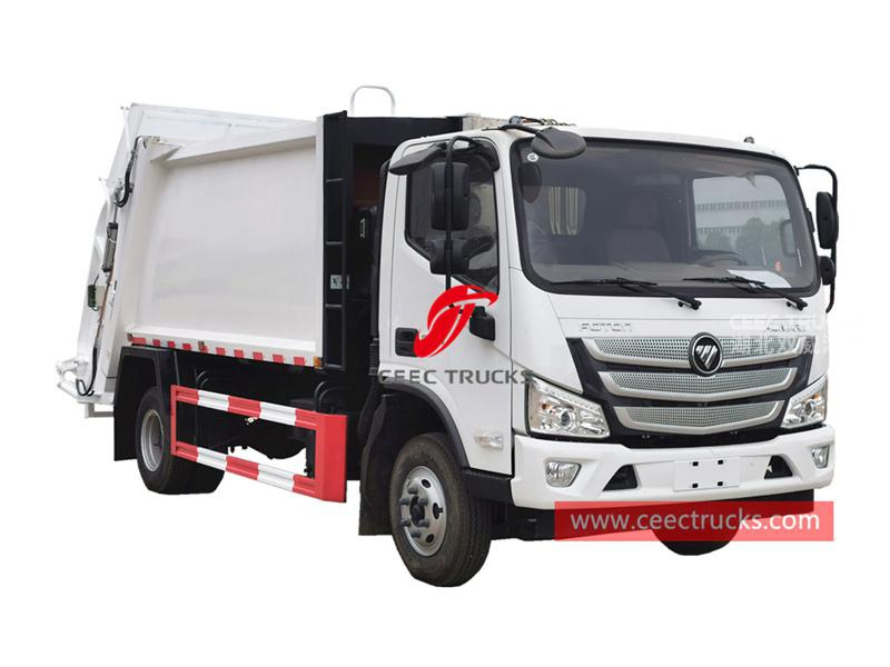 FOTON 8CBM refuse compressed truck
