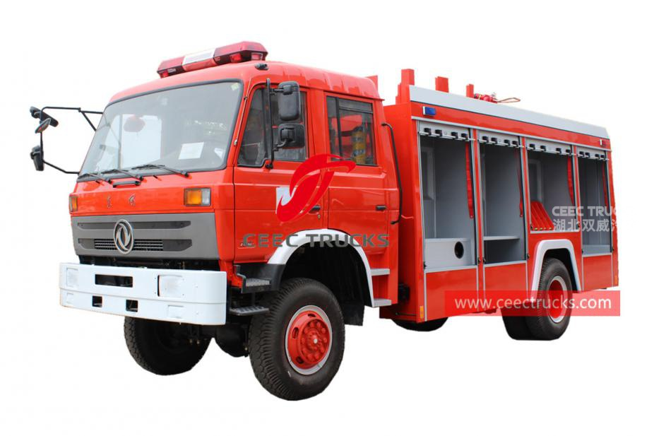 Dongfeng all wheel drive fire engine