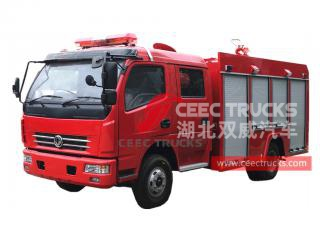 Dongfeng 4 × 2 camion d'incendie RHD
