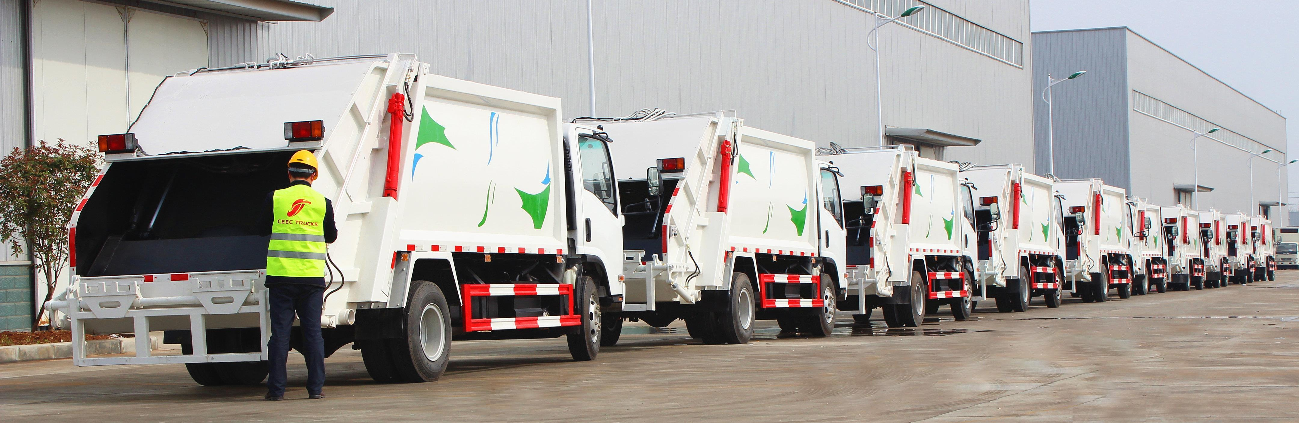 best garbage compactor trucks supplier