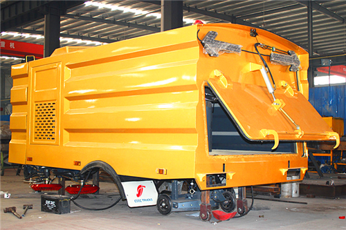 PECO directives--manuel d'Installation 5CBM Road Sweeper Superstructure